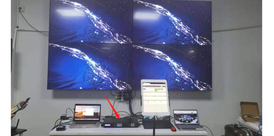 HDMI矩阵4进4出应用场景