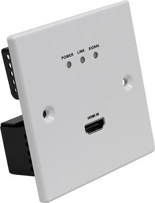 墙面面安装型HDBaset传输器