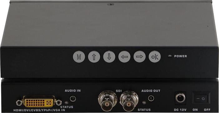 DVI/HDMI/VGA/CVBS/YPBPR转SDI转换器