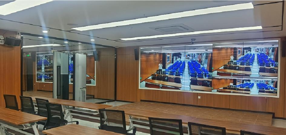 碧云祥高清混合矩阵应用于广州某大厦会议厅