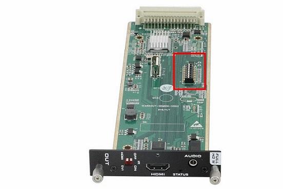 HDMI输出板卡