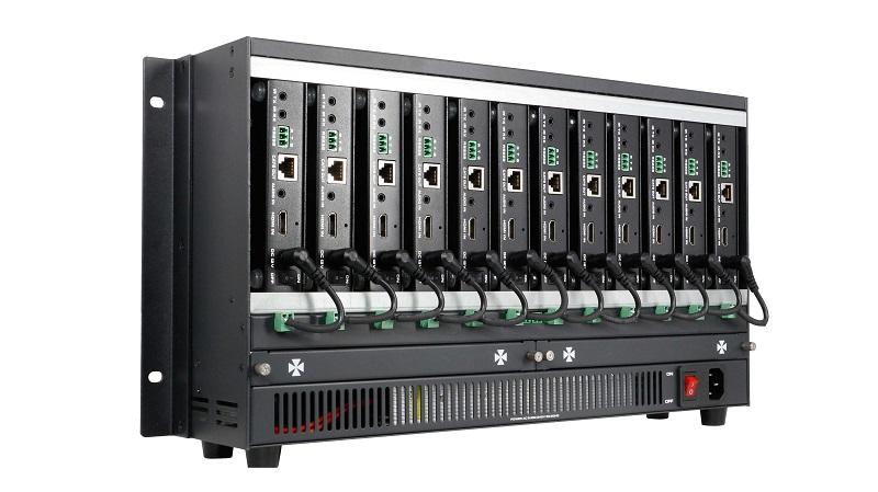 集中供电式HDMI网线传输器